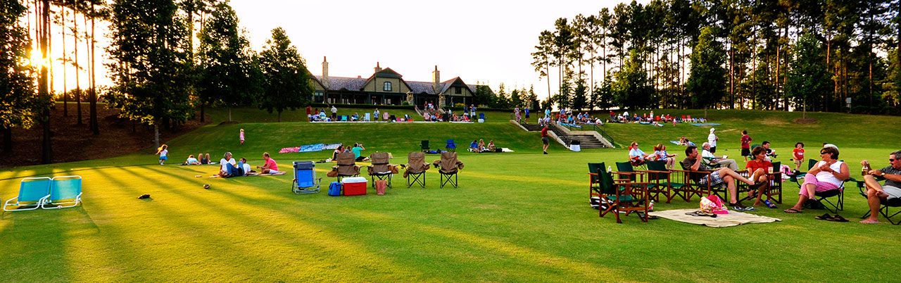 The Reserve is the only community on Lake Keowee with a grass tennis court