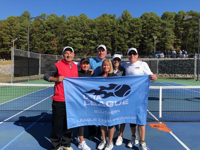 A Grand Slam for The Reserve's Mixed Doubles Tennis Team